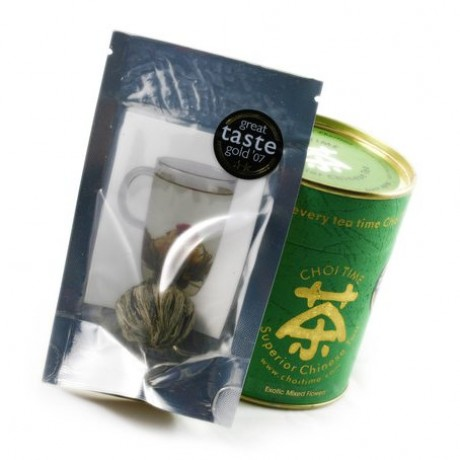 Single Sachet and Traditional Chinese Tea Caddie