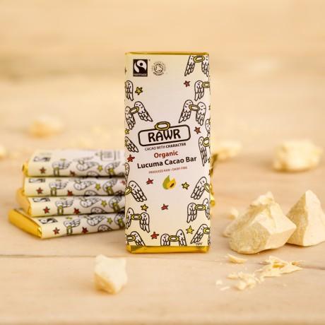 Organic Fairtrade Lucuma Chocolate Bar 60g