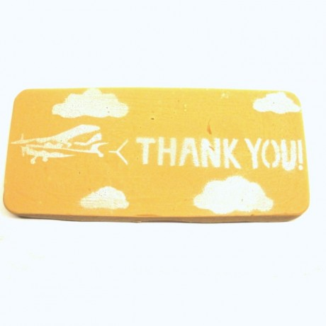 Thank you Fudge Gift Bar