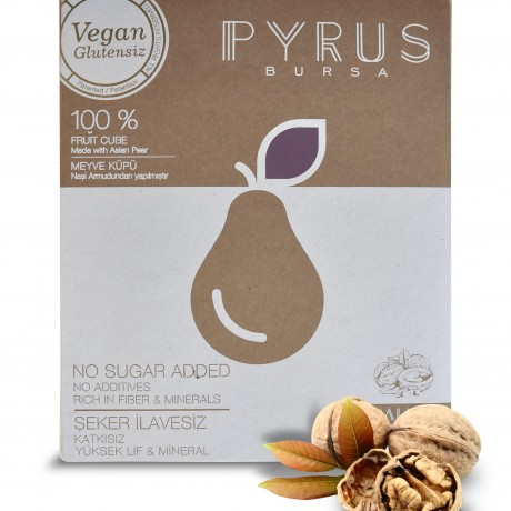 Vegan, Gluten Free, Dairy Free, 100% Natural Pear Snack with Coconut- 40 gr x 20 packs