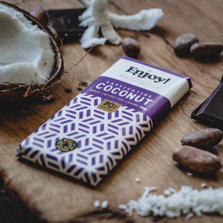 Coconut Milk Raw Organic Chocolate Bars