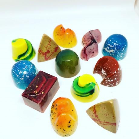 Selection of chocolate