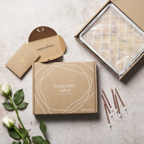 Gift card and candles as optional extras