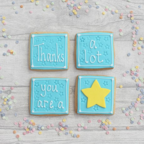 Thank you cookie gift set