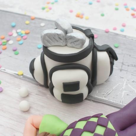 Golf themed cake topper