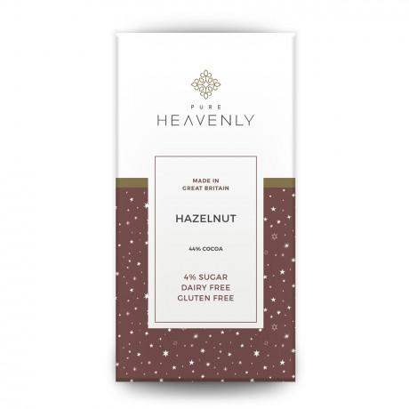 3 Vegan Low Sugar Hazelnut Milk Chocolate Alternative Bars (Free From)