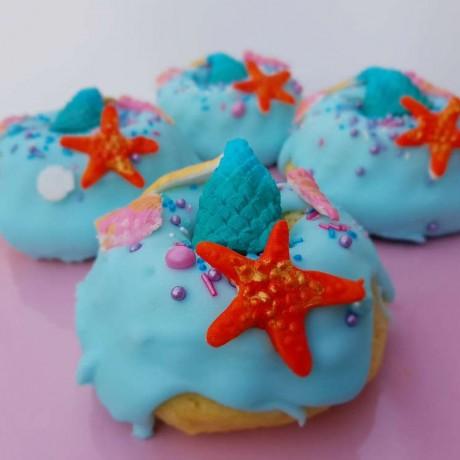 Mermaid Vegan Donuts (Box of 6)