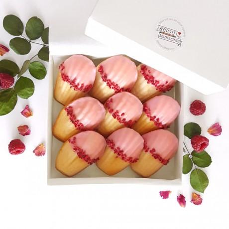 Madeleines - Box Paris: Raspberry & Rose water