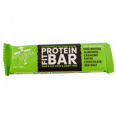 Natural Protein Fit Bar - Chocolate and Sea Salt (Pack of 15)