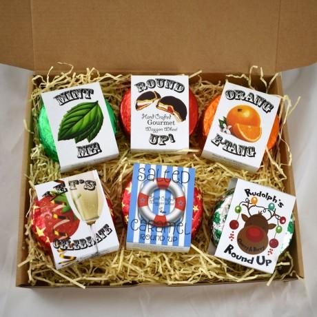 Round Ups - Vegan Wagon Wheels Gift Box