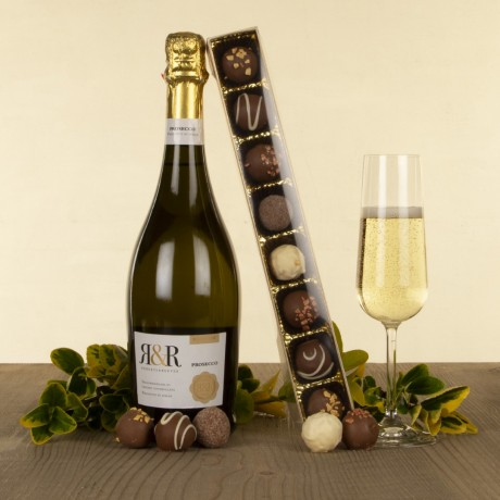 Prosecco and Chocolate Truffles Gift Set 2019
