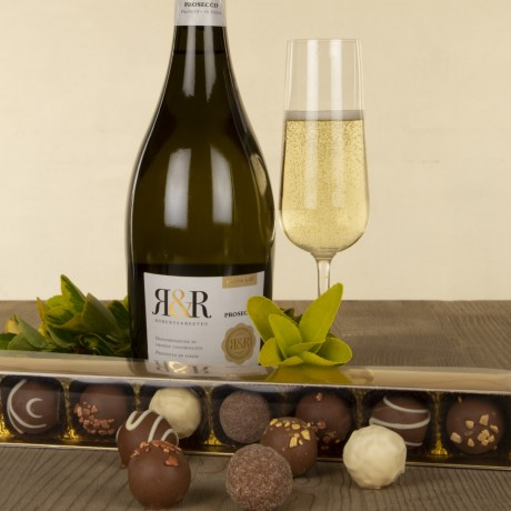 2019 Prosecco and Chocolate Truffles Gift Set