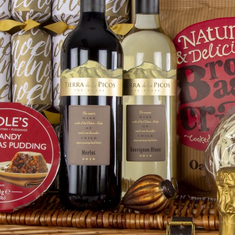 2019 Christmas Tradition Luxury Hamper with Prosecco