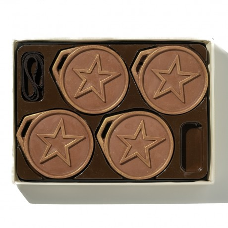 Gold Chocolate Medals