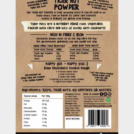 Tiger Nuts Powder - Organic