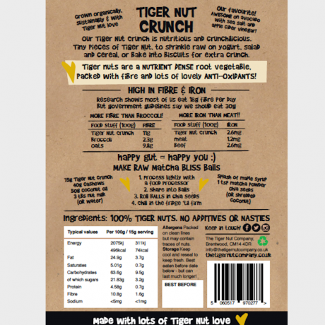 Tiger Nuts Crunch - Organic