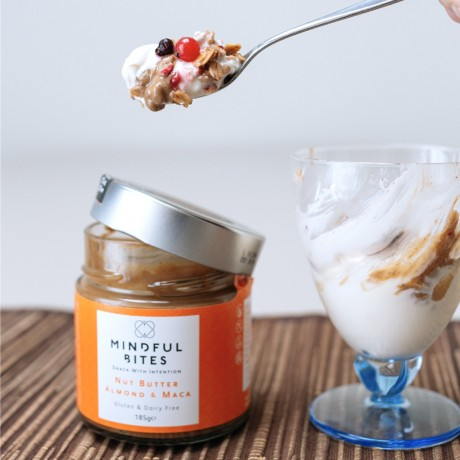 Almond and Maca - Nut Butter Jars Duo