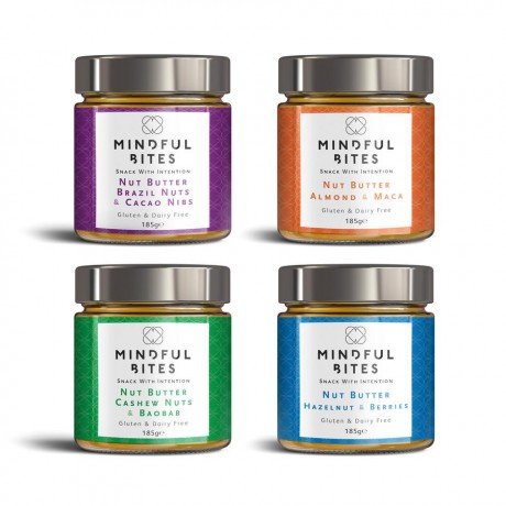 Nut Butter Four Jars Gift Box