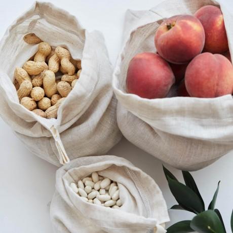 Reusable Produce Bags (Set of 3)