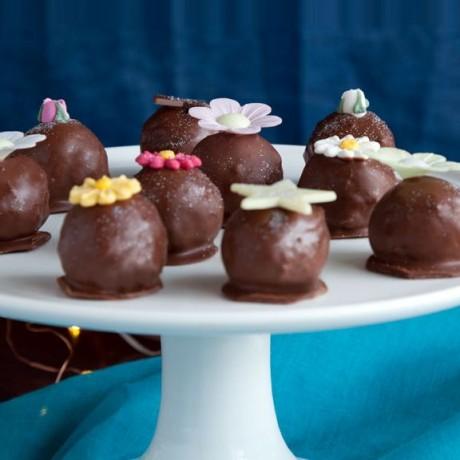 Caribbean Rum Cake Balls