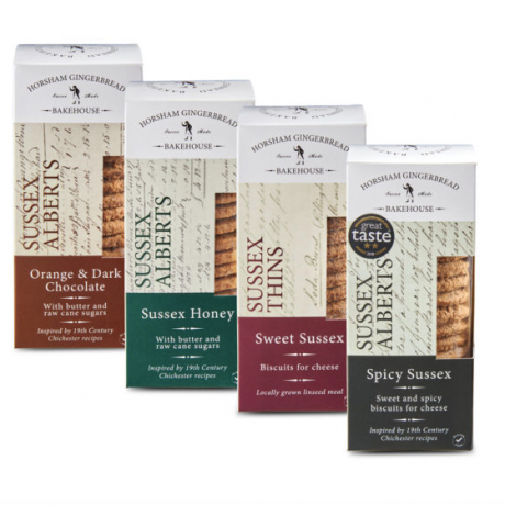 Gluten Free Biscuit Selection (4 x 175gr)