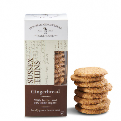 Sussex Gingerbread Thin Biscuits (4x175gr)