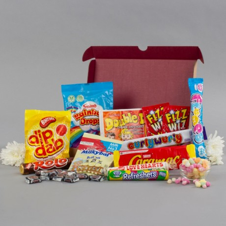 Confectionery Retro Sweets Letterbox Gift