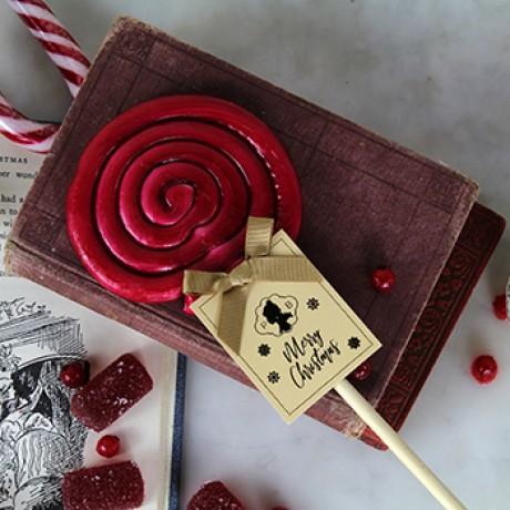 Handmade Christmas Lollipop Duo
