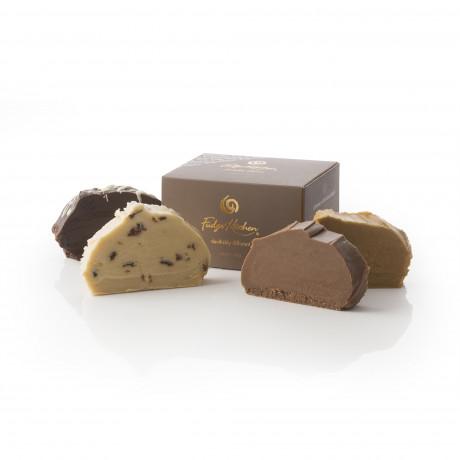 Vegan Chrsitmas Box Selection Fudges