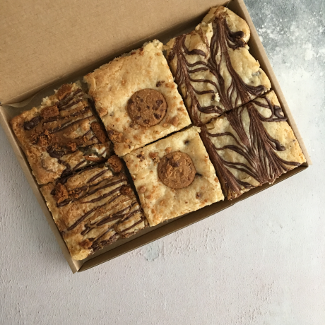 Vegan Mixed Blondie Box (Box of 6)