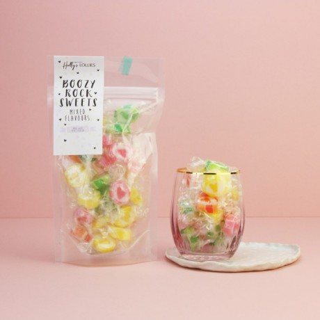 Boozy Mixed Pack Rock Sweet Pouch