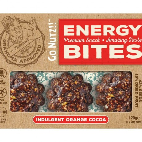 Indulgent Orange Cocoa Superfood Energy Balls (Box of 6)