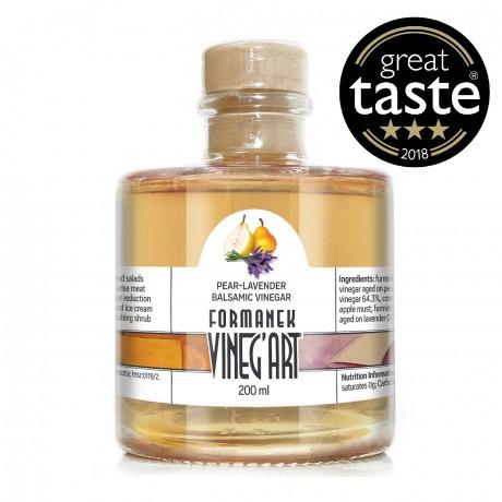 Award Winning Balsamic Pear & Lavender Vinegar