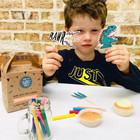 Dinosaur Cupcake Party bag