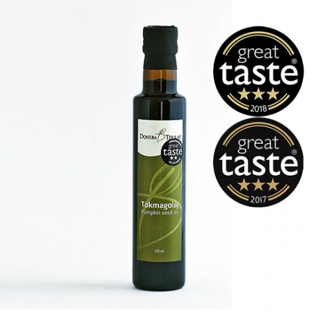 Multiple Award Winning Pumpkin Seed Oil