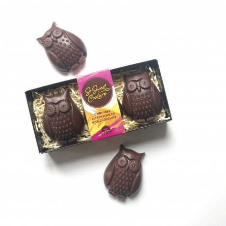 Dairy Free Milk Chocolate Owls