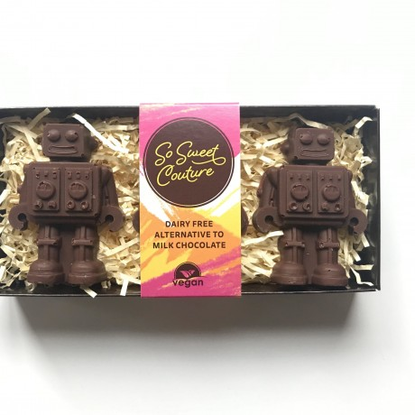 Dairy Free Milk Chocolate Robots