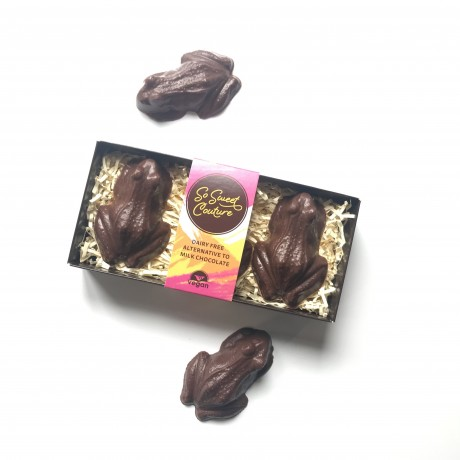 Dairy Free Milk Chocolate Frogs