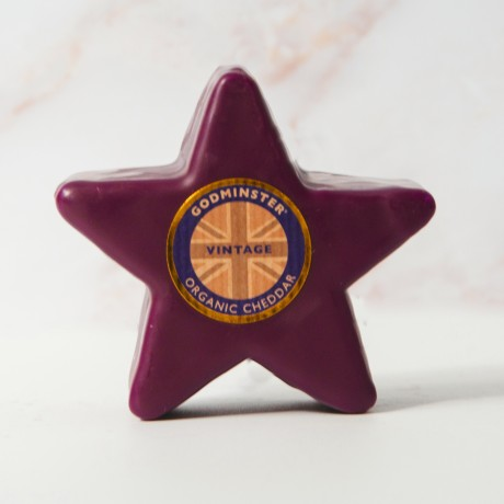 Godminster 200g Vintage Organic Cheddar Star