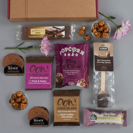 The Chocoholic's Chocolate Letterbox Gift