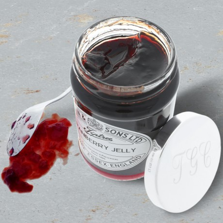 Sterling Silver Personalised Cranberry Sauce Lid