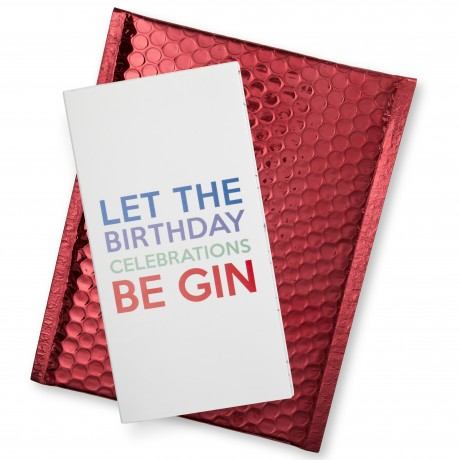 Tipsy Card - Let the Birthday Celebrations Be GIN