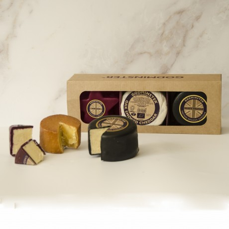 Godminster Triple Cheddar Collection