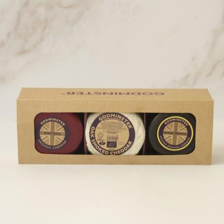 Godminster Triple Cheddar Gift Set