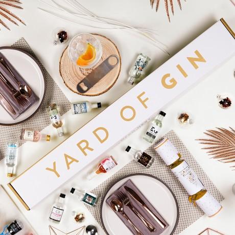 Yard of gin selection