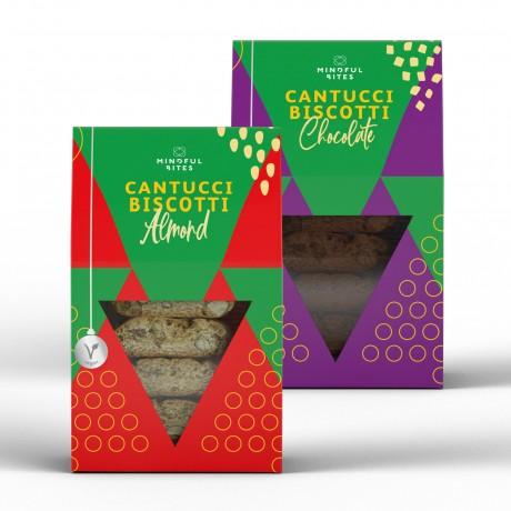 Mindful Bites Veganettone (Mixed Berries) - Vegan Panettone, Christmas Cake, No Palm Oil - 500g