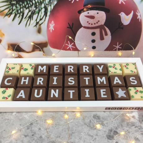 Personalised Chocolate Gifts for Christmas