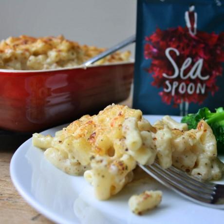 Macaroni with Seaweed Umami blend