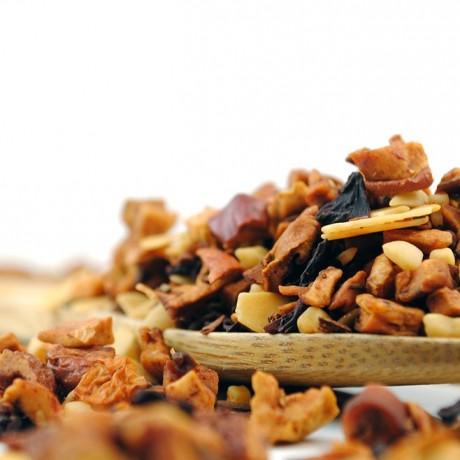 roasted almond loose tea