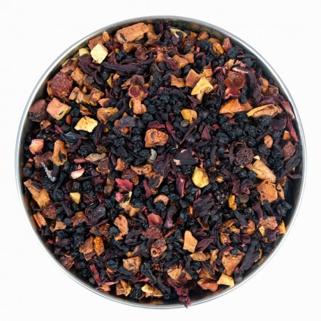 wild cherry loose fruit tea